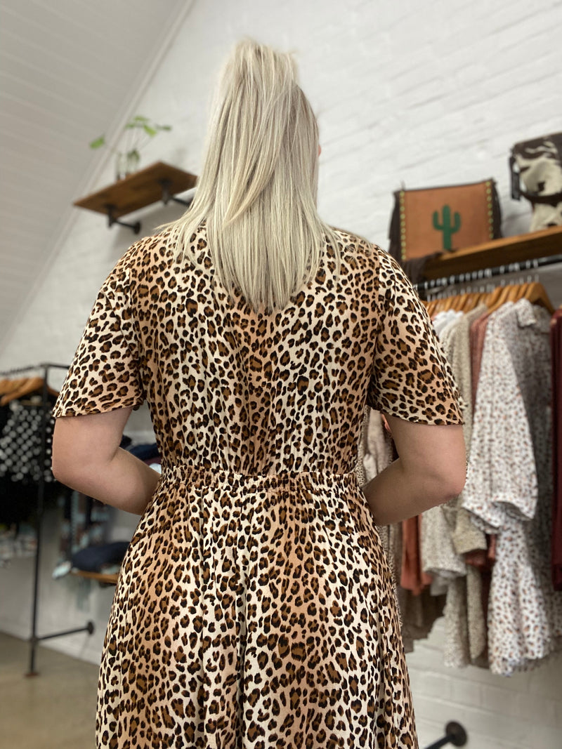 Shaydie Dress - Leopard