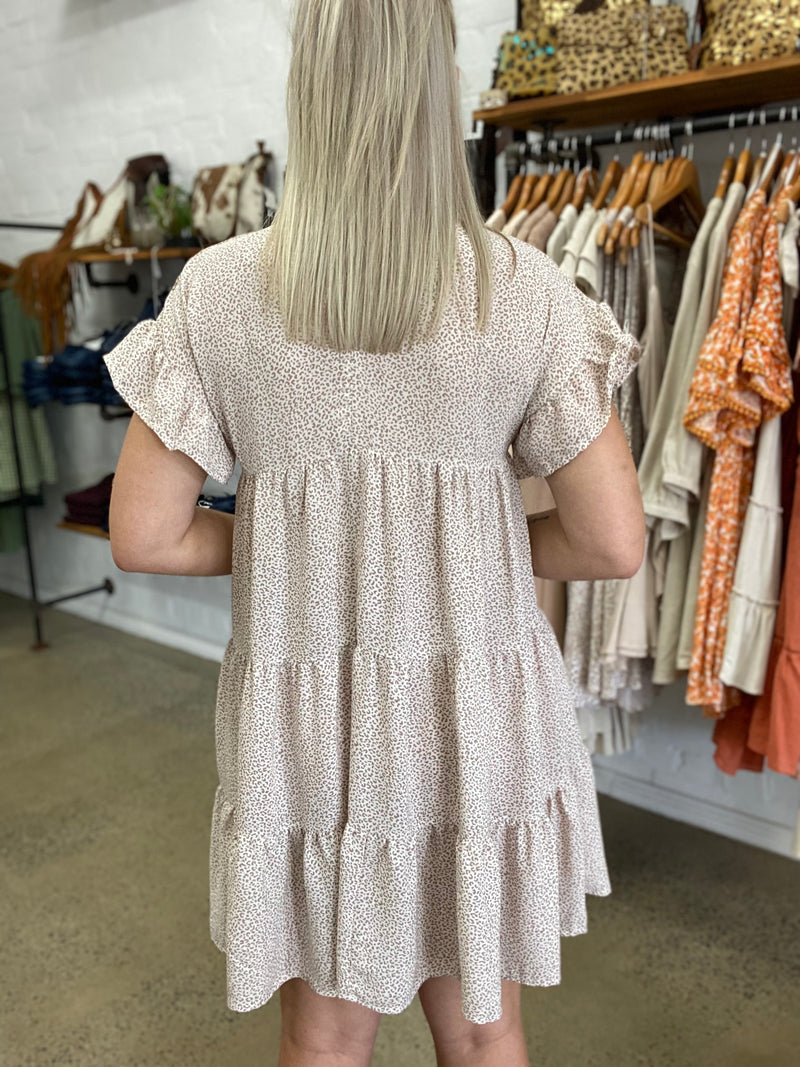 Sue Dress - Beige