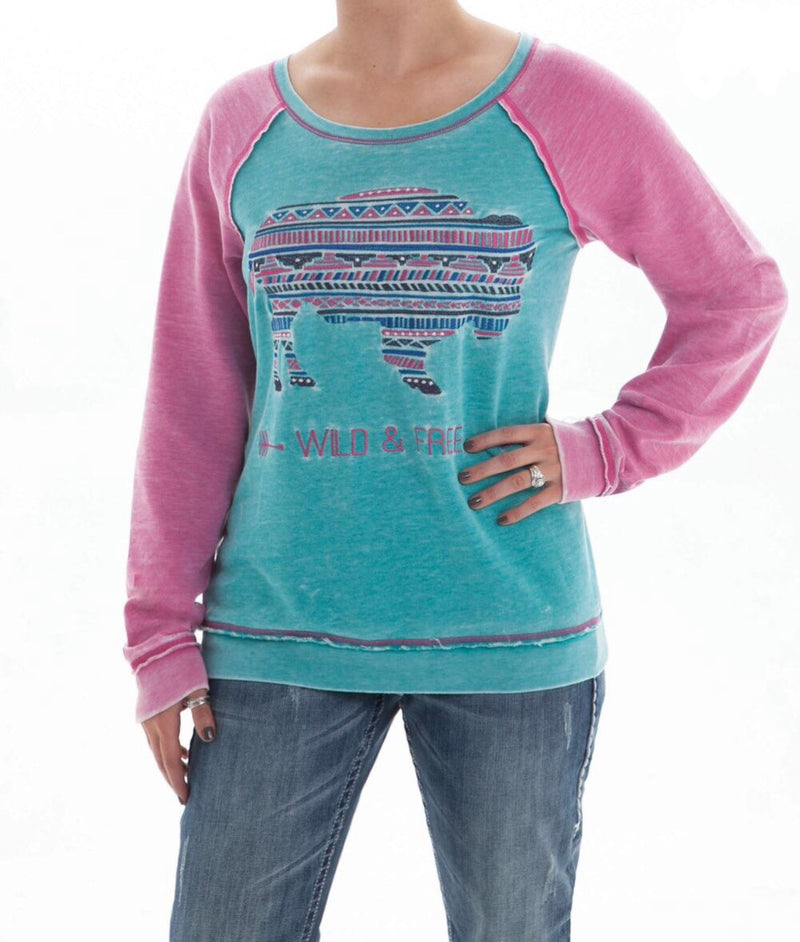 Cowgirl Tuff Long Sleeved Top (H00453)
