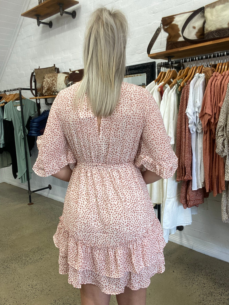 Kelly  Dress - Pink