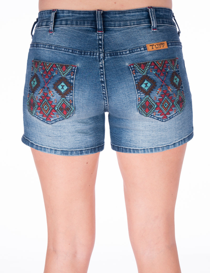 Cowgirl Tuff Shorts - Go South Shorts