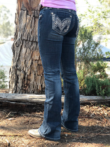 Cowgirl Tuff Jeans - Classic Mustang