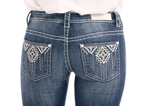 Rock & Roll Cowgirl Jeans - W6-1000 - Rival Low Rise