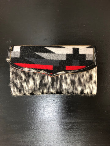 Wipe Pouch - Black Speckle & Red Gator