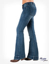 Cowgirl Tuff Jeans - Just Tuff Medium Wash Trouser