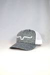 Kimes Weekly Trucker Cap - Grey Heather