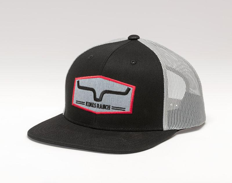 Kimes Ranch Replay Trucker Cap - Black