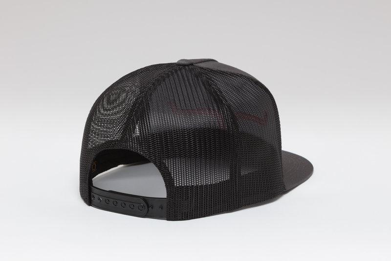 Kimes Ranch Shadow Horns Trucker Cap - Charcoal/Black