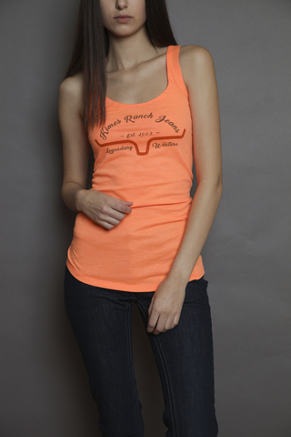 Kimes Ranch Tank - All Time Neon Orange