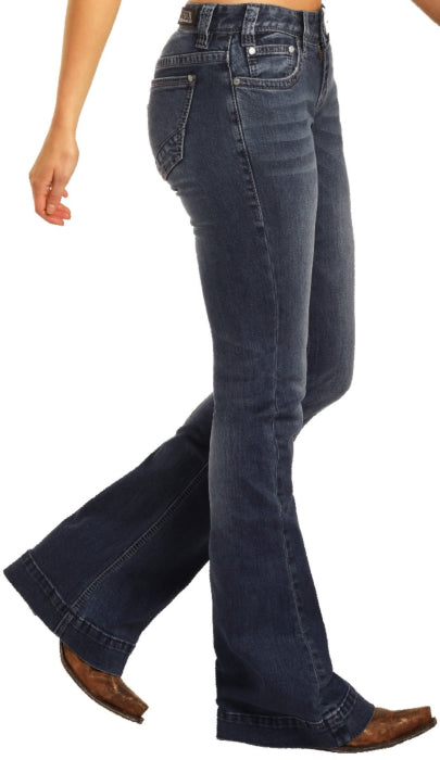 Rock & Roll Cowgirl Jeans - W8-4136 - Trouser