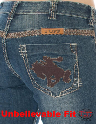 Cowgirl Tuff Jeans - Beautiful Bandana