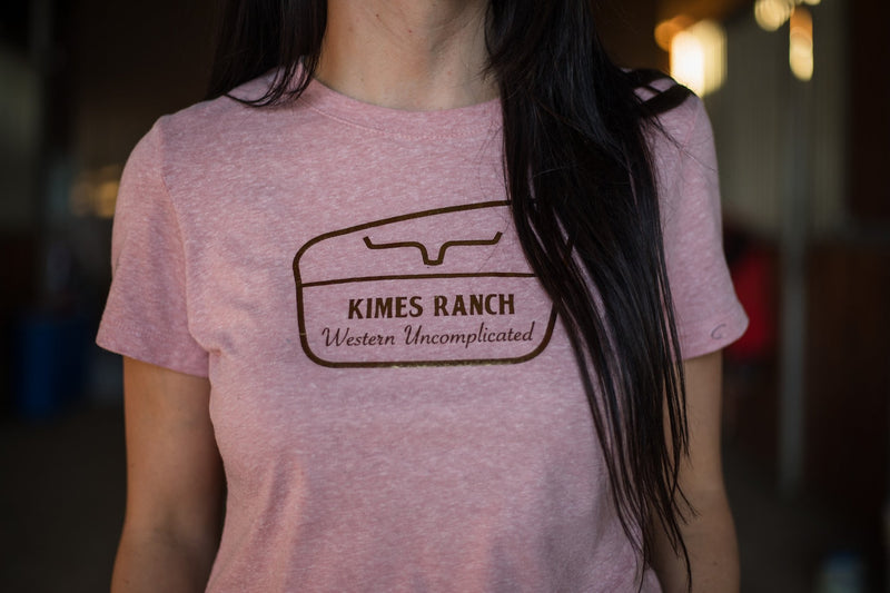 Kimes Ranch Tee - NPA Desert Rose