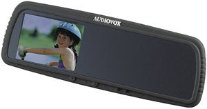 AUDIOVOX RVM3 Rearview Mirror with Built-in 4