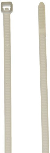 Panduit PLT2S-M Cable Tie, Standard, Nylon 6.6, 7.4-Inch Length, Natural (1,000-Pack)