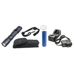 Mountain (MTN10E36) 800 Lumen IPX-6 Rechargeable LED Flashlight