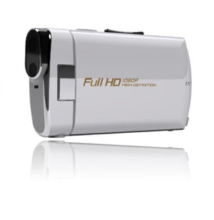 Polaroid ID820-WHITE-OD-2 Ultra Thin Digital Video Recorder (Pearl White)
