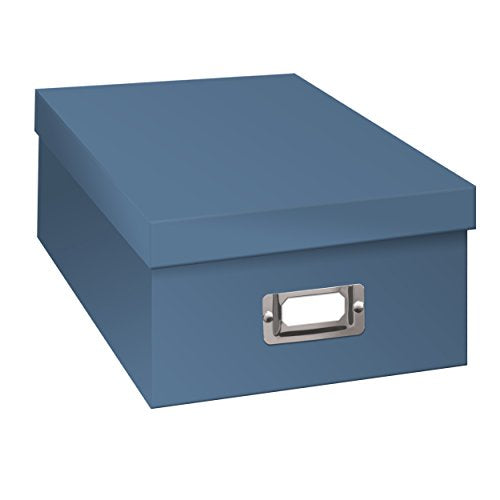 Pioneer Photo Albums B-1S/SB B-1S Photo Storage Box, Sky Blue