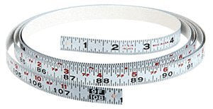 CRL Right Hand Snow Cut-Off Gauge Measurement Tape