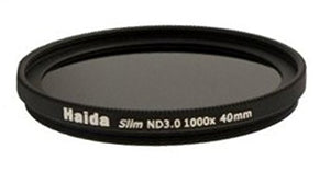 Haida 40mm Slim PROII Neutral Density Multi-Coated ND 3.0 1000x Filter 40