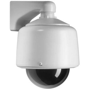 Pelco DF5-1 Indoor, 5-inch in-ceiling discreet dome with fixed camera mount and clear lower dome with opaque liner (for virtually no light loss). Plen