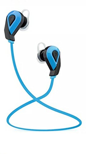 HAWKS-G4 WIRELESS BLUETOOTH HEADPHONES STEREO, SPORT IN-EAR HEADSET V4.1, SWEATPROOF NOISE CANCELLING (blue)
