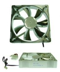 Evercool Aluminum Medium Speed Dual Ball Bearing 120mm Fan