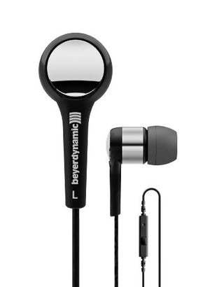beyerdynamic MMX 102 iE in-Ear Headphones Black/Silver