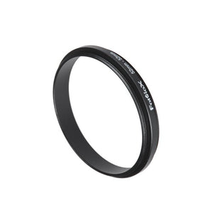 Fotodiox 52mm  52mm, 52 52mm Macro Close Up Reverse Ring, Anodized Black Metal Ring, For Nikon, Cano