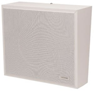 VALCOM-Talkback Wall Speaker - White