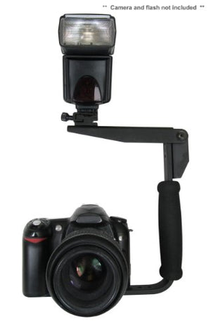 Sony Alpha A3000 Flash Bracket (PivPo Pivoting Positioning) 180 Degrees (Sony Shoe)