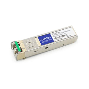 Addon-Networking SFP Mini-GBIC Transceiver Module, LC Single Mode (JD116A-AO)