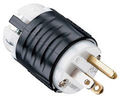 PASS & SEYMOUR PS5266X CONNECTOR, POWER ENTRY, PLUG, 15A