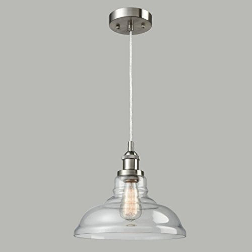 CLAXY Ecopower Foyer Clear Glass Dining Pendant Lighting