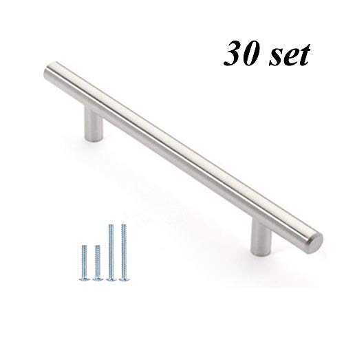 12mm Stainless Steel Kitchen Cabinet Handles T Bar Pull 8 Inches 30 Directnine Europe