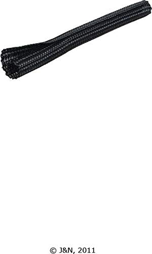 605-14002-100 - J&N, Braided Sleeving, PET Plastic, 0.13