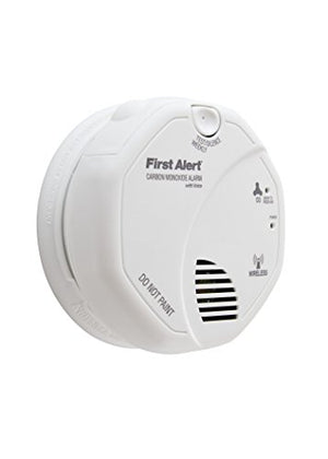 First Alert CO511B Wireless Interconnected Carbon Monoxide Alarm with Voice and Location