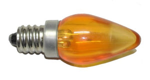 25-Pack 12 volt Orange Replacement LED Bulb Smooth Finish