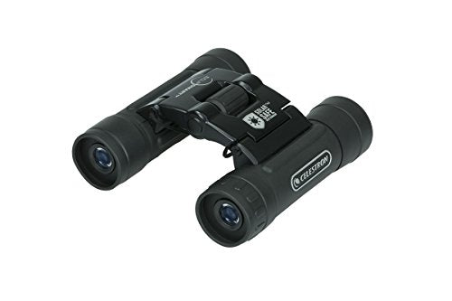 Celestron - EclipSmart 10x25 Solar Binocular - Safe Solar Viewing - ISO 12312-2 Compliant Sun Binoculars - View The Solar Eclipse and Sunspots Safely - Compact Travel Size
