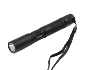 Mastiff A2 3w 375nm Ultraviolet Radiation Uv Cure LED Blacklight Lamp Flashlight Torch and Nylon Holster