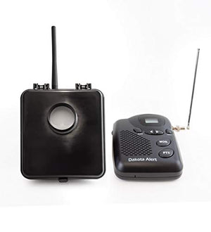 Dakota Alert MURS-BS-KIT Motion Sensor Kit - MURS Alert Transmitter Box and M538-BS Wireless MURS Base Station - License-Free Multi Use Radio Service