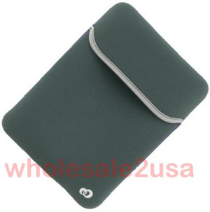 - New GRAY Pouch Sleeve Case Bag for Amazon Kindle 2 {+ 1pc name tag}