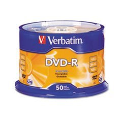 (3 Pack Value Bundle) VER95101 DVD-R Discs, 4.7GB, 16x, Spindle, Silver
