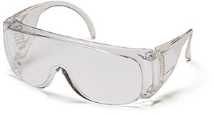 Solo Visitors Specs, Clear Frame, Clear Lens - Lot of 12