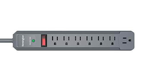 Kensington Guardian 7-Outlet, 6-Foot Cord, 540 Joules Premium Surge Protector (K38217NA)