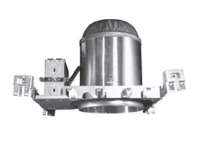 Nicor Lighting 5 Inch Universal Housing For New Construction Applications, Non Ic (15000)