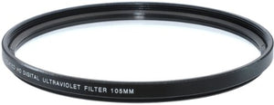 Xit XT105UV 105mm Camera Lens Sky and UV Filters