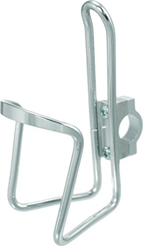 Handlebar Mounted Water Bottle Cage Silver