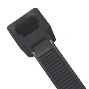 Cable Tie, Standard, 14.5 in, Blck, PK100