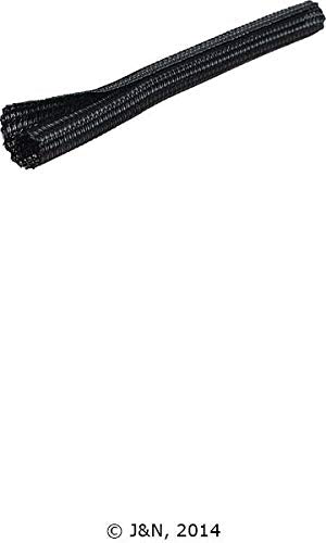 605-19004-25 - J&N, Braided Sleeving, PET Plastic, 0.25