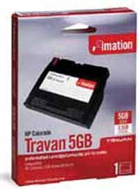 Imation Colorado Travan 2.5/ 5GB Data Cartridge, Part # 12023 New & Factory Sealed